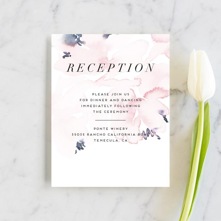 """""""Florista Modernista"""" - Reception Cards in Azalea by Petra Kern."""