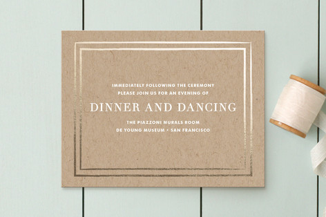 Band of Gold Reception Cards