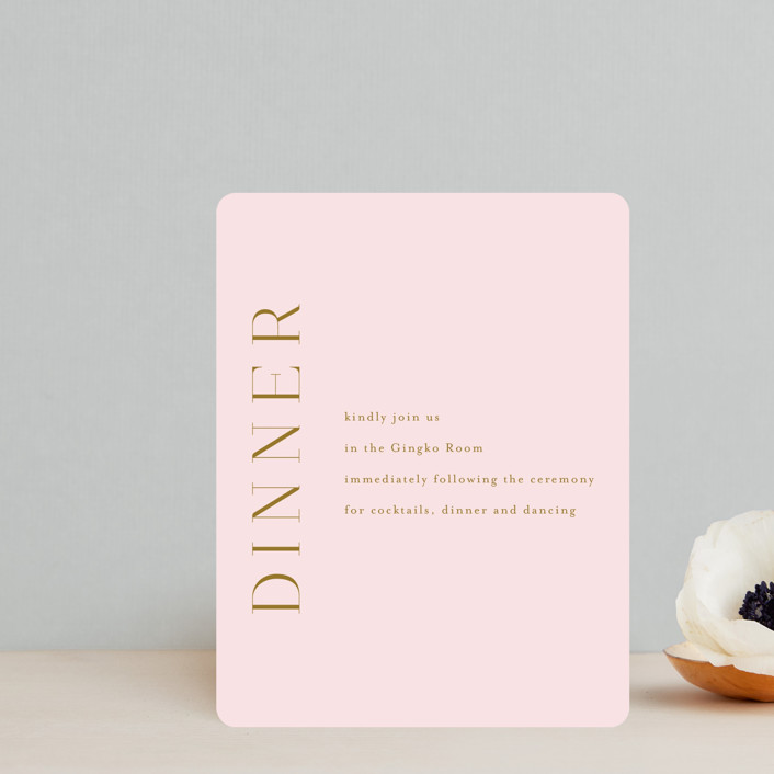"""""""colorwash floral"""" - Reception Cards in Blossom by Angela Marzuki."""