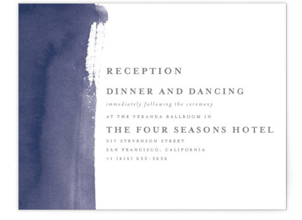 Love Reception Cards