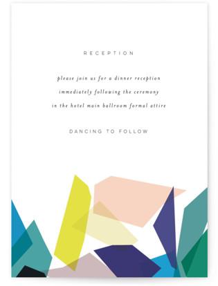 Gemstones Reception Cards