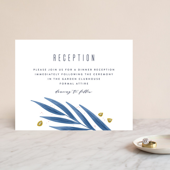 """""""Paradise"""" - Reception Cards in Seaside by Joanna Griffin."""