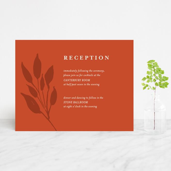 """Flourishing"" - Reception Cards in Bloom by Beth Schneider."