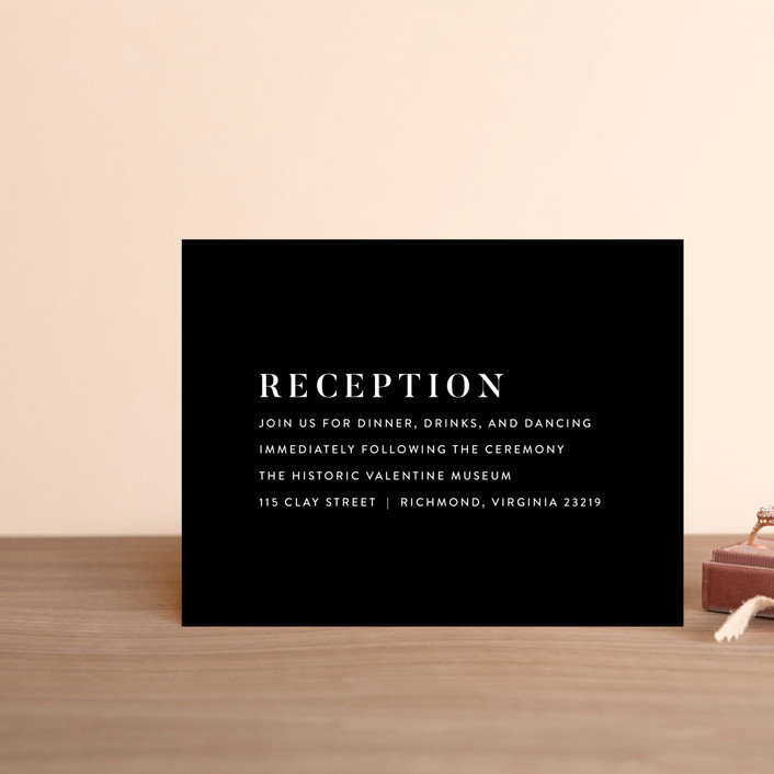"""""""Harmonie"""" - Reception Cards in Cloud by carly reed walker."""