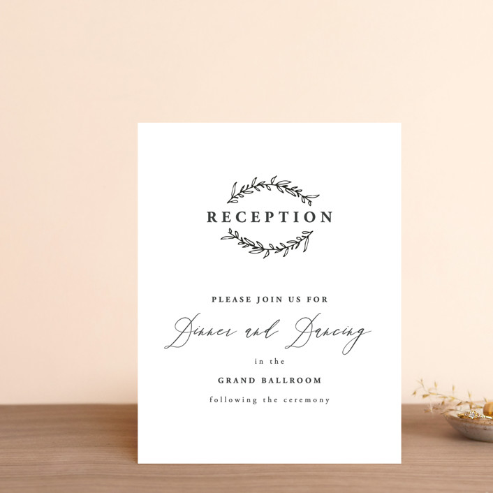 """Antoinette"" - Reception Cards in Ivory by lulu and isabelle."