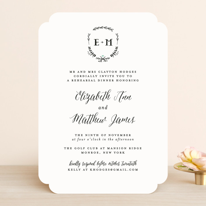 Always Rehearsal Dinner Invitations By Susan Brown Minted
