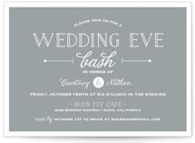 Wedding Eve Bash