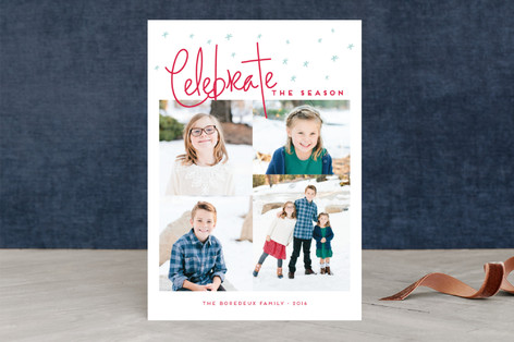 Christmas is in the air Christmas Photo Cards