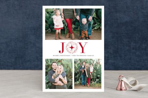 Starry Joy Christmas Photo Cards
