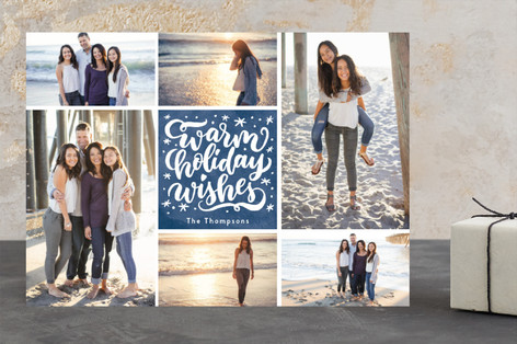 Merry Magical Wishes Christmas Photo Cards