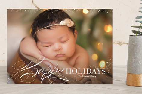 Heavenly Peace Christmas Photo Cards