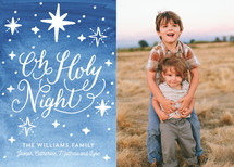 Holy Star Night Christmas Photo Cards (Retired)