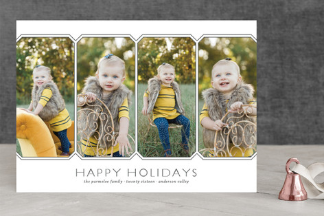 Vacation Panoramic Christmas Photo Cards