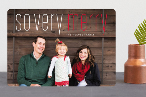 Merry Holiday Christmas Photo Cards