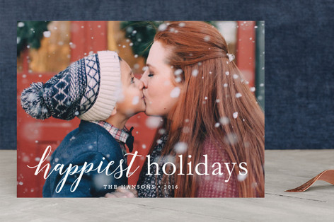 comfort & joy Christmas Photo Cards
