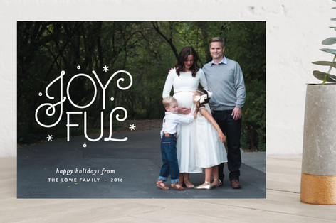 Joy Us Christmas Photo Cards