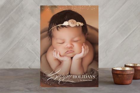 Heavenly Peace Christmas Photo Cards