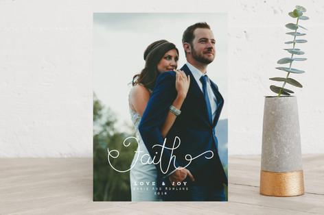 Faith in Love Christmas Photo Cards