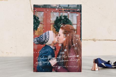 a Christmas celebration Christmas Photo Cards