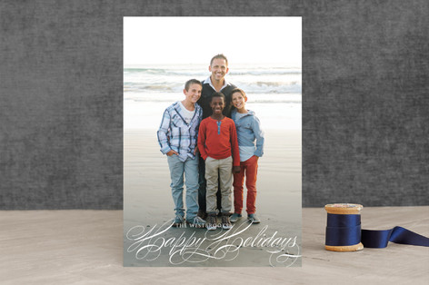 Grace Christmas Photo Cards