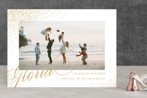 In Excelsis Deo Christmas Photo Cards