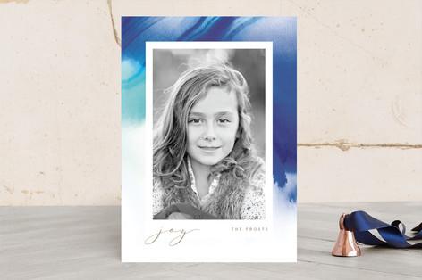 Glacial Melt Christmas Photo Cards
