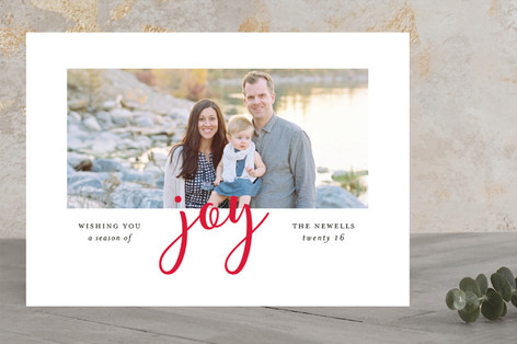 Joyful Season Christmas Photo Cards