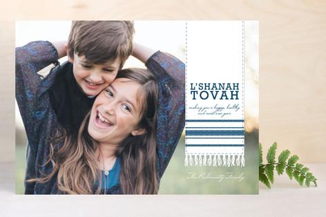 Tallit Rosh Hashanah Cards