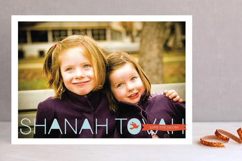 Postcard Wishes Rosh Hashanah Cards