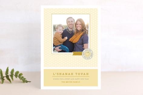 Sweet Honeycomb Rosh Hashanah Cards