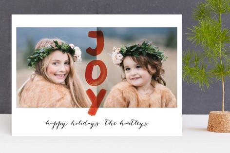 Happy Joy New Year's Photo Cards