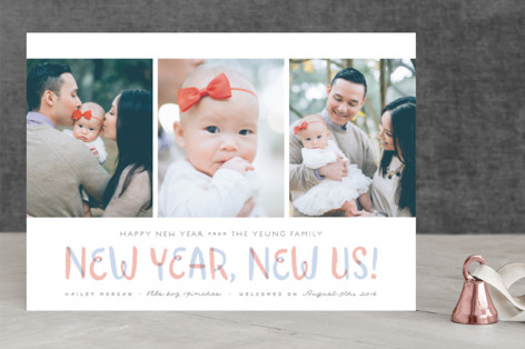 New Year, New Us! New Year's Photo Cards