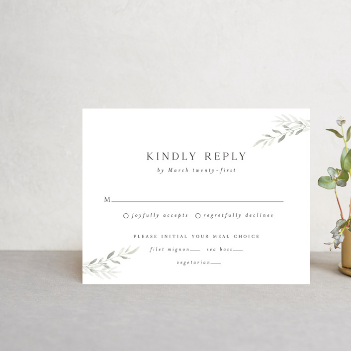 """Sweeping"" - Rsvp Postcards in Linen by Carolyn Nicks."