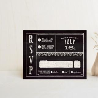 Slated Forever RSVP Postcards