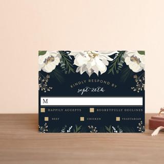 Peonies & Berries RSVP Postcards
