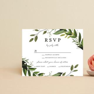 Vines of Green RSVP Postcards