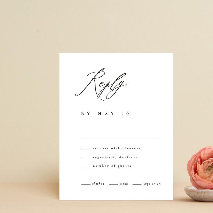 """Corison"" - Rsvp Postcards in Classic by Kelly Schmidt."