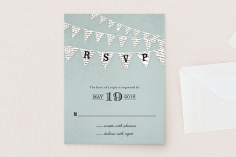 Love Story RSVP Cards