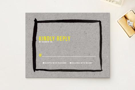 Artist's Frame RSVP Cards