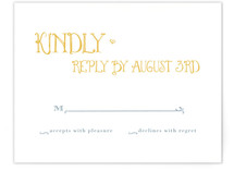 Once Upon RSVP Cards