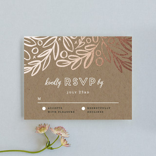 Hidden Branches RSVP Cards