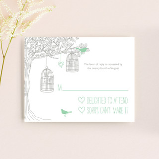 Love Let Loose RSVP Cards