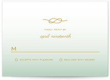 Simple Knot RSVP Cards