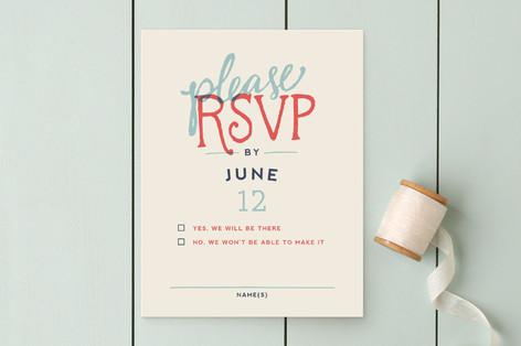Celebration of Love RSVP Cards