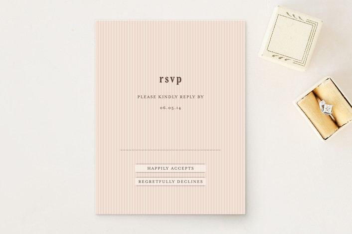 """""""Stracciatella"""" - Simple, Whimsical & Funny Rsvp Cards in Ivory by chocomocacino."""