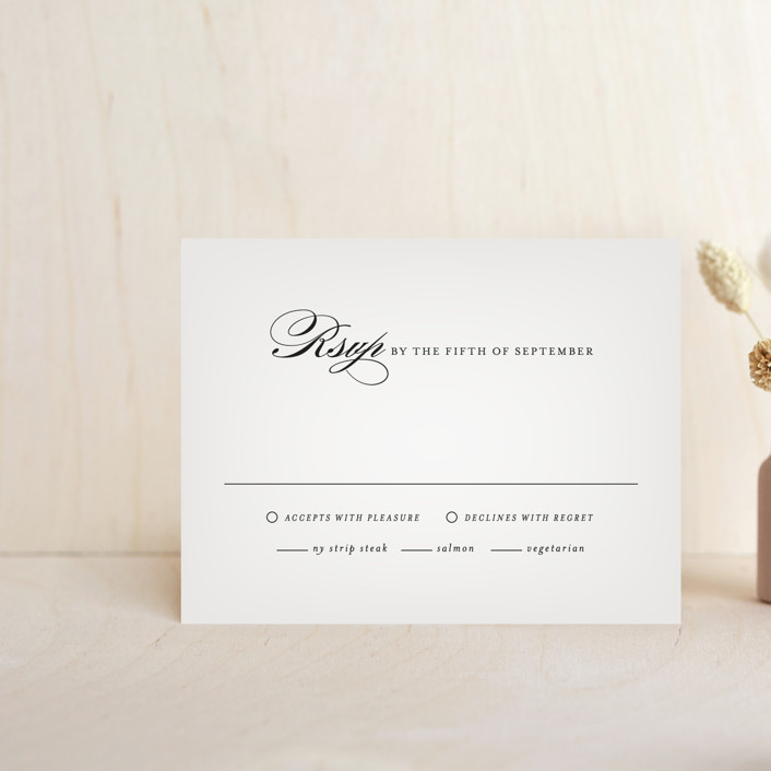 """Big City - New York City"" - Rsvp Cards in Light Taupe by Hooray Creative."