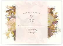 Floral Feast RSVP Cards