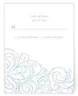 Ocean Flourish RSVP Cards
