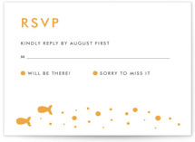 Only Fish for Me RSVP Cards