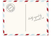 Airmail RSVP Cards